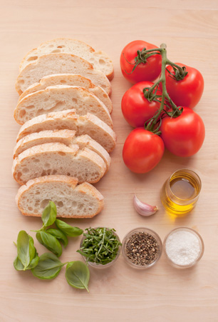 bruschetta rezept original italienisch